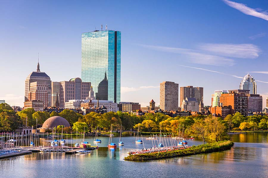 Header - Boston City Skyline
